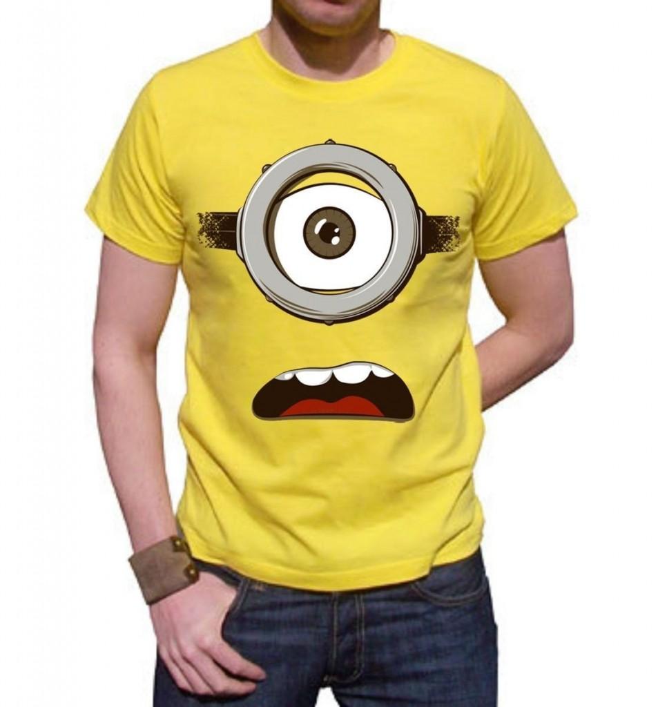Camiseta de los minions