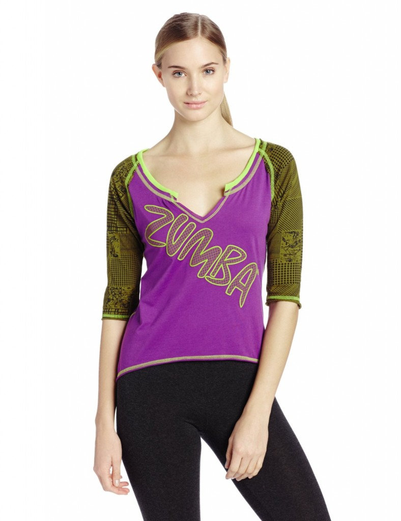 Camiseta para fitness de mujer