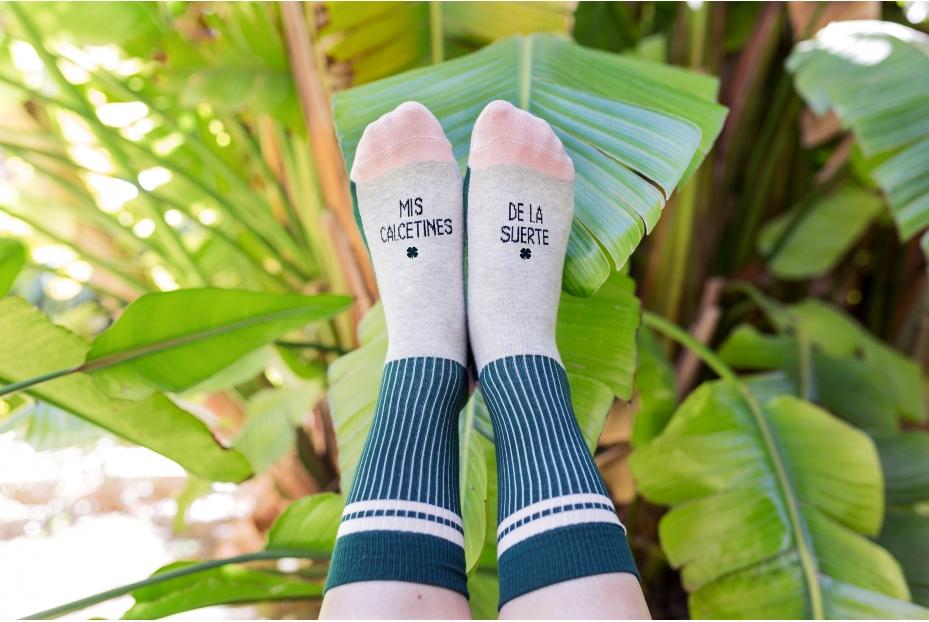 Bonitos calcetines de la suerte