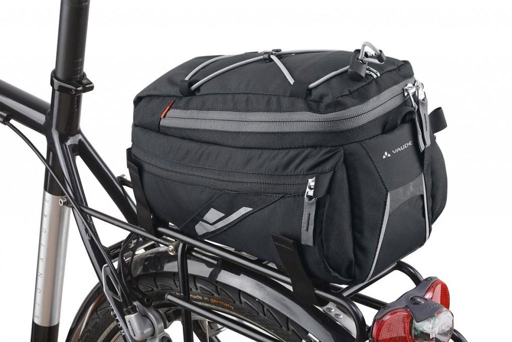 Bolsa trasera para bicicleta