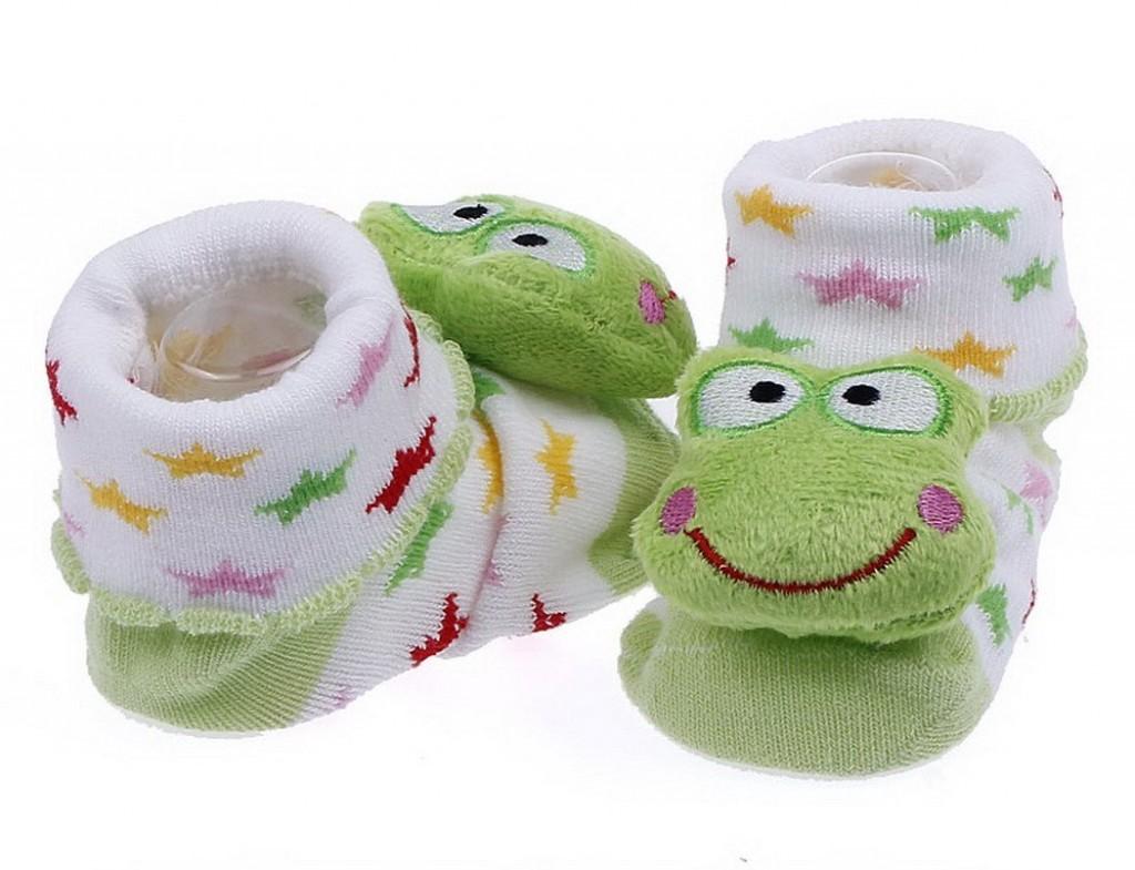 Calcetines de bebé con diseño animal