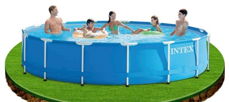 Piscina Intex Metal con Depuradora