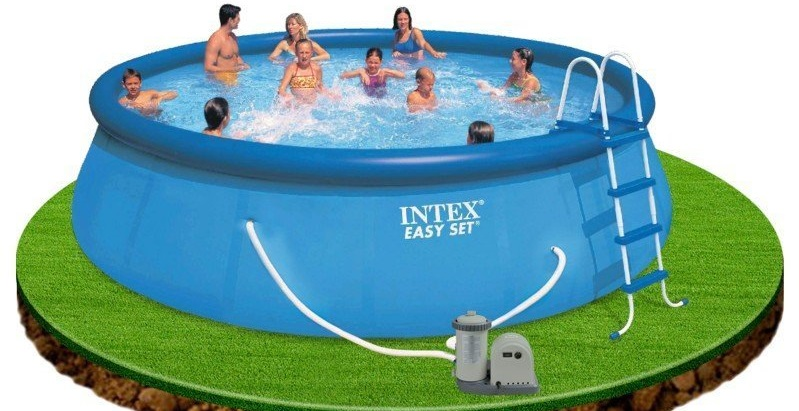 Piscina Intex Set Completo