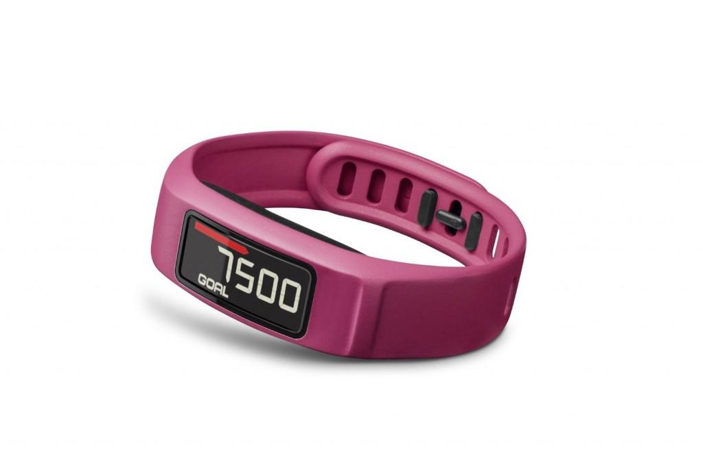Pulsera de actividad de color rosa