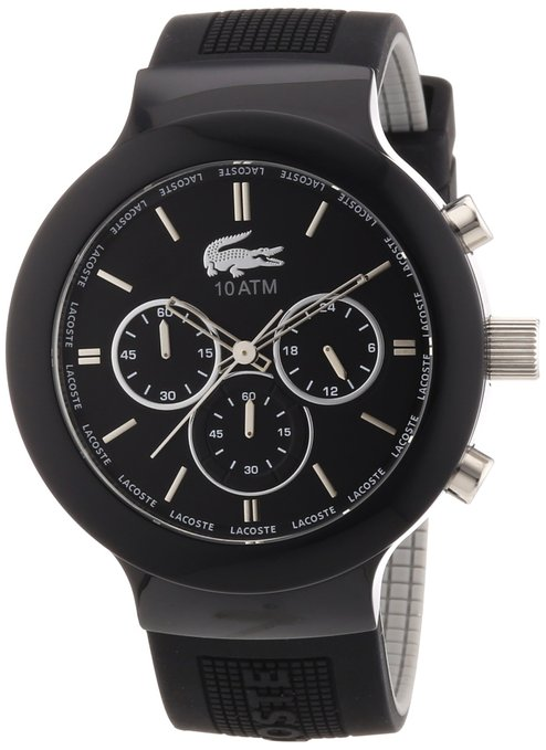 Reloj Lacoste de color negro